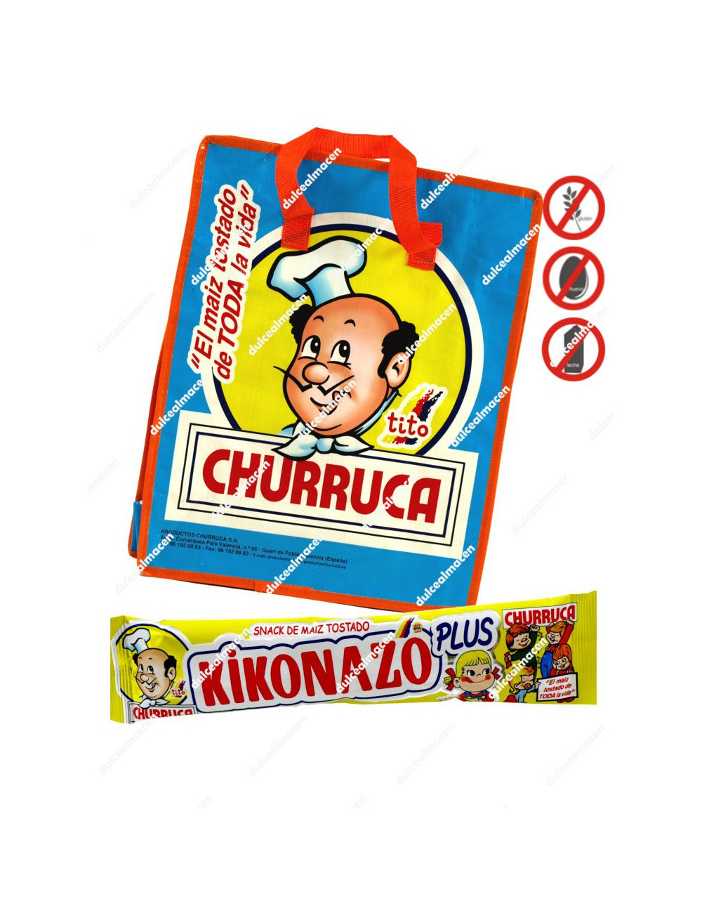 Churruca kikonazo plus 45+5