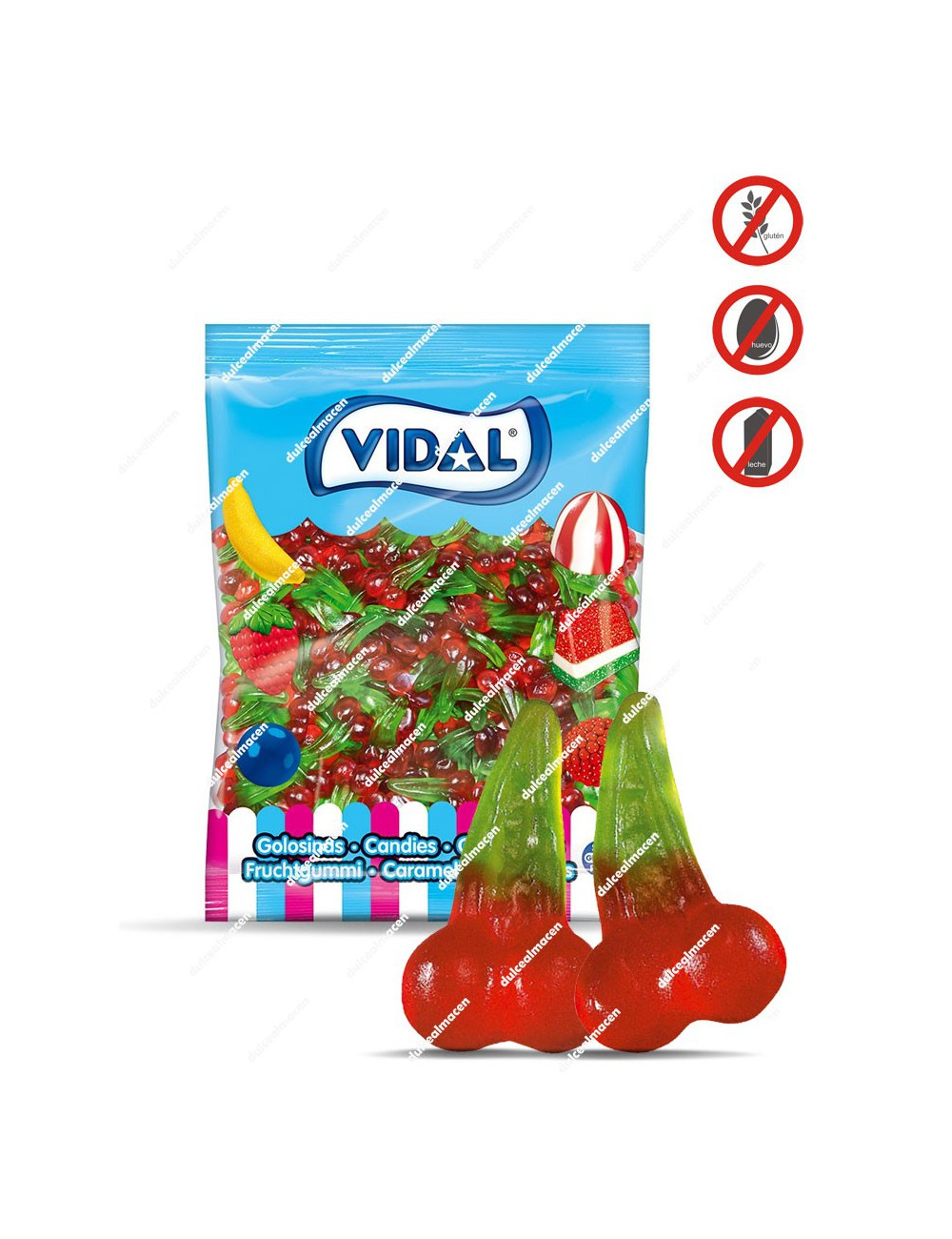 Vidal Cerezas Brillo