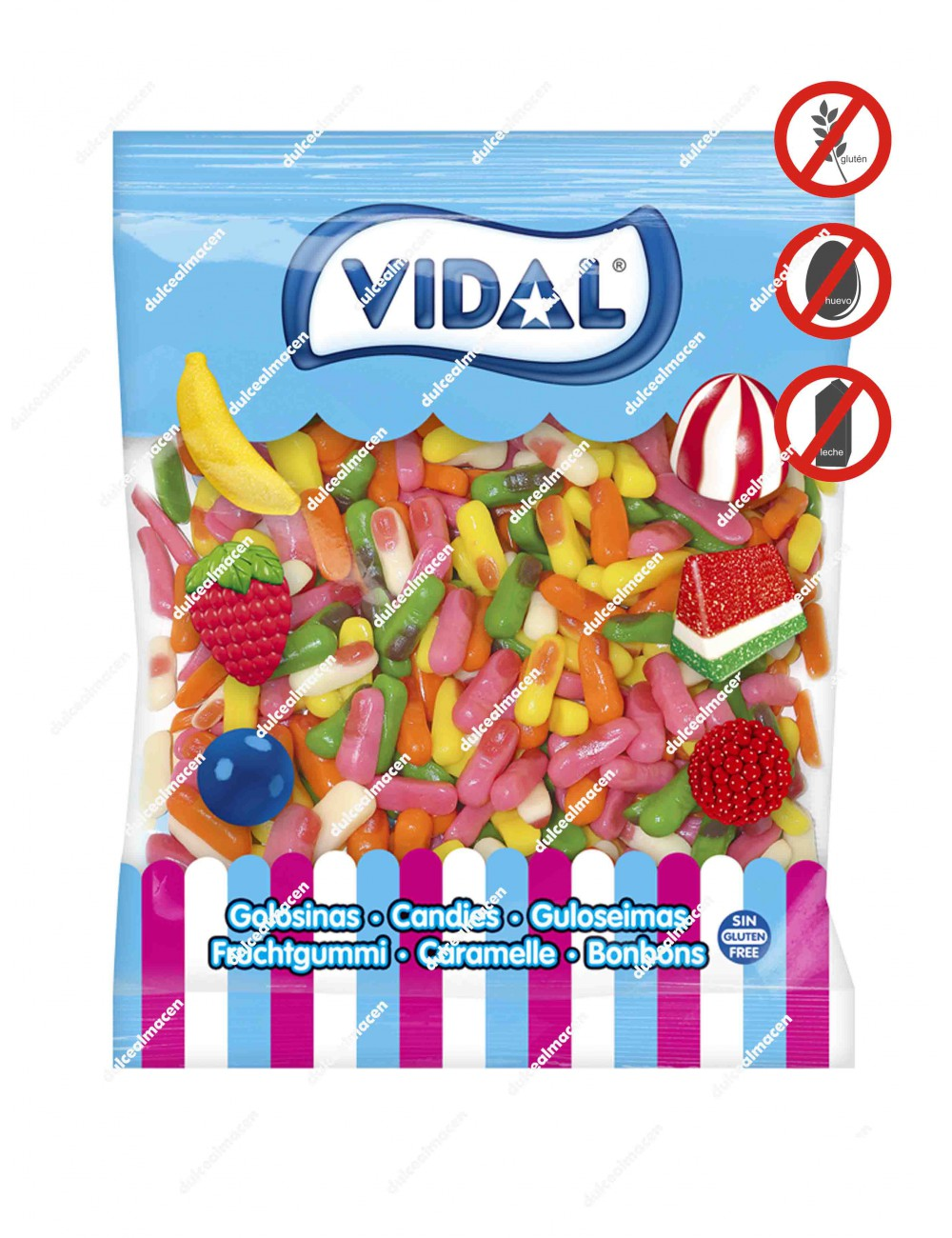 Vidal Mini Dedos Brillo
