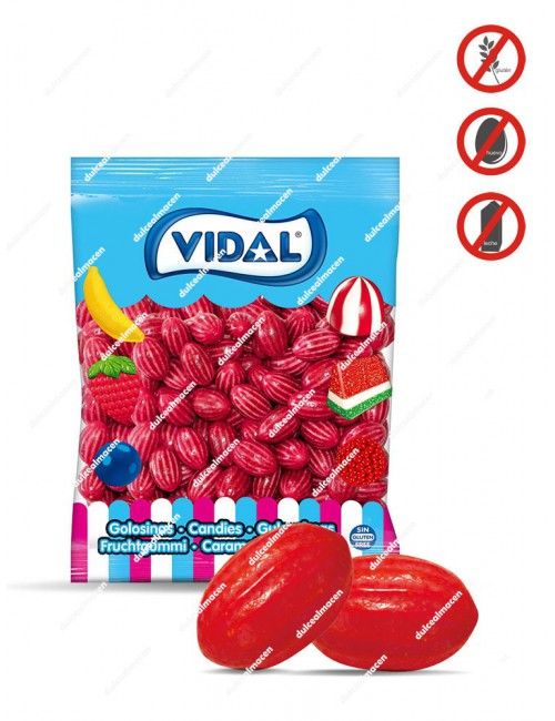 Vidal Fresas Chicle