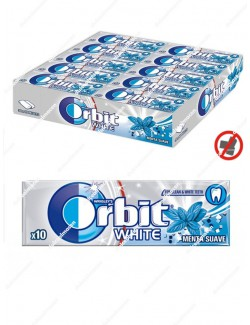 Orbit white menta suave