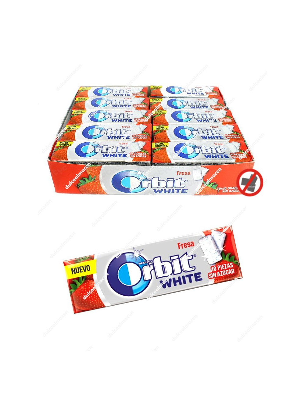 Orbit white fresa