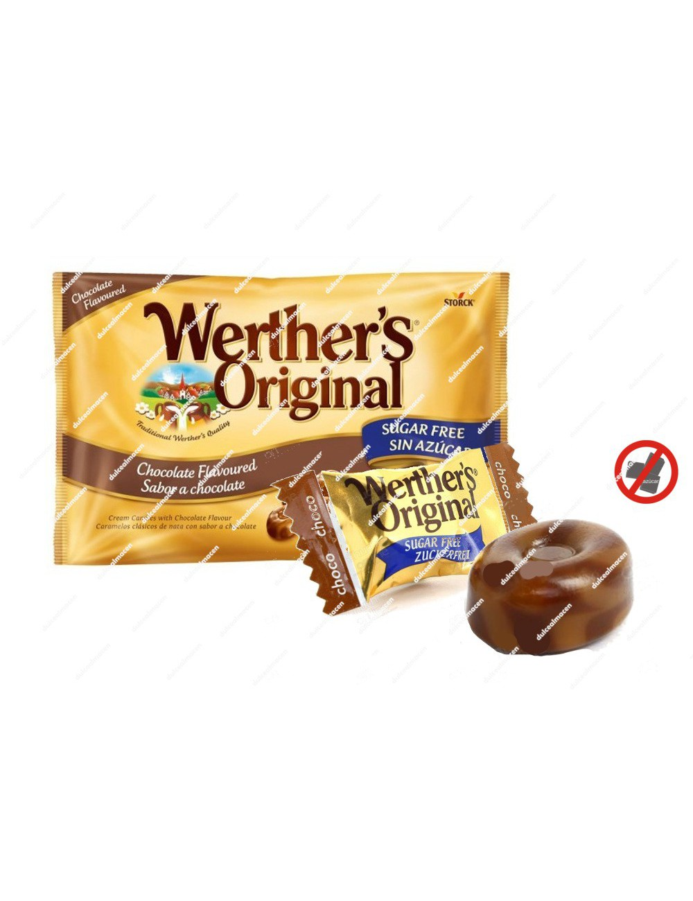 Werthers chocolate sin azúcar