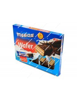 Megos wafer chocolate leche