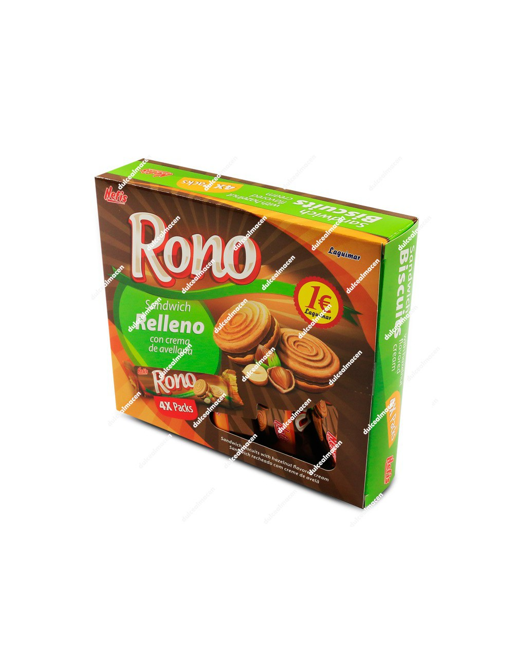 Rono galletas crema avellana