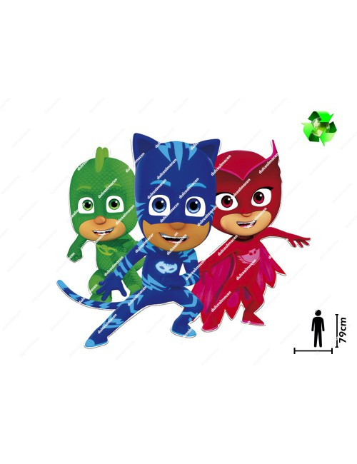 Supersilueta Pj Masks