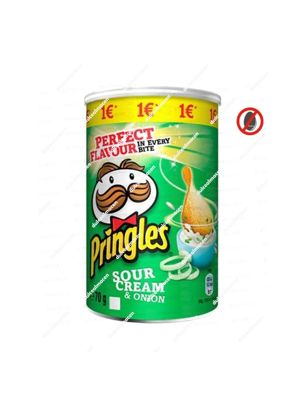 Pringles sour cream onion lata mediana