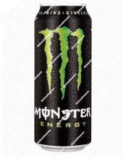 Monster Energy verde