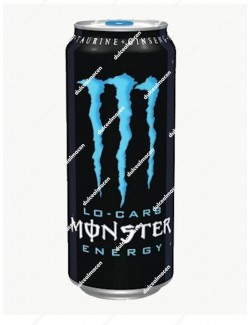 Monster Energy Lo-Carb azul