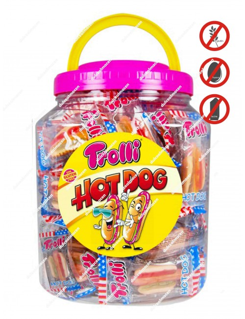 Trolli Hot Dog Tarro