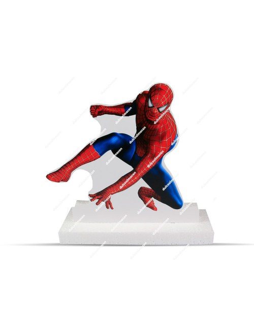 Pedestal corcho Spiderman