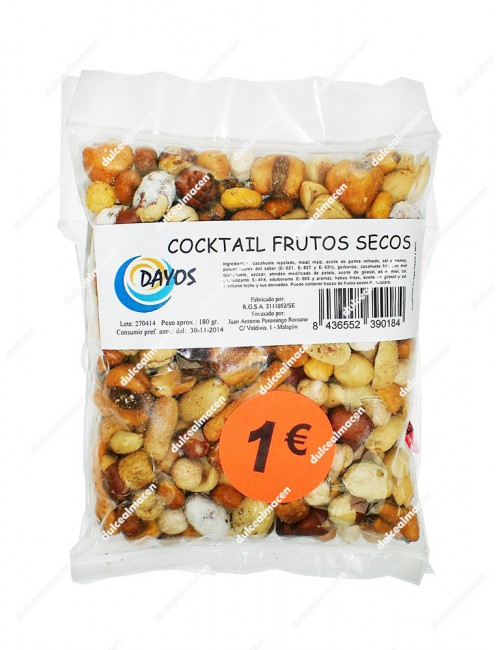 Dayos cocktail frutos secos