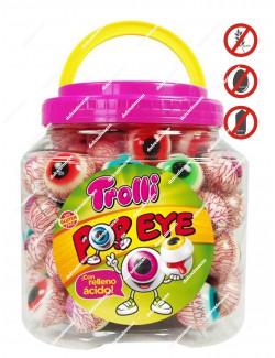 Trolli Tarro Ojos Pop Eye
