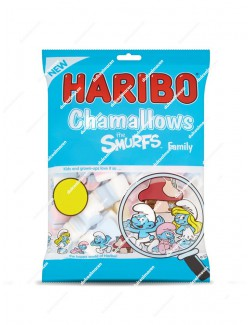 Haribo Chamallows nubes Pitufos family