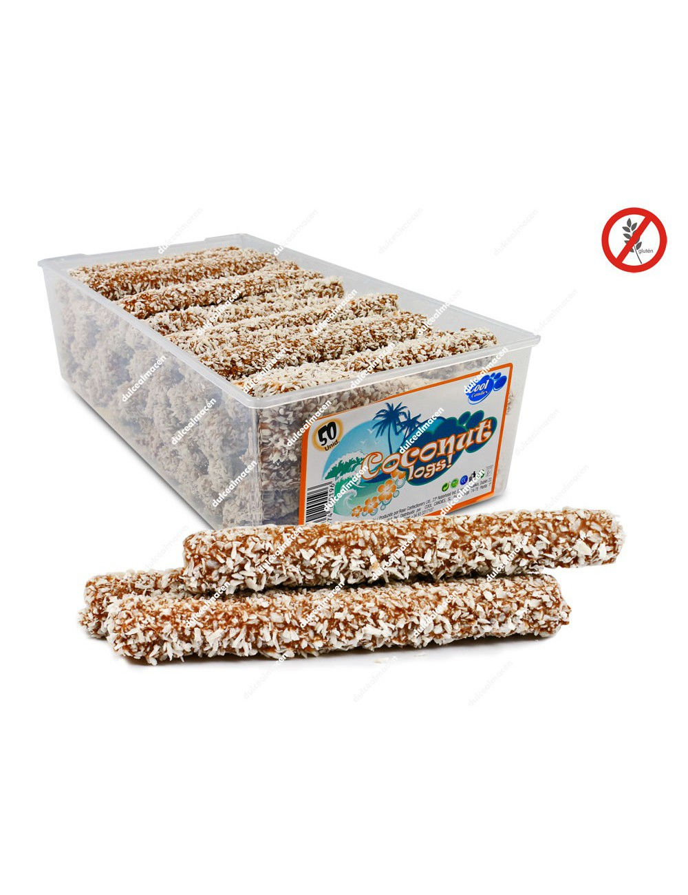 Cool Coconut Logs