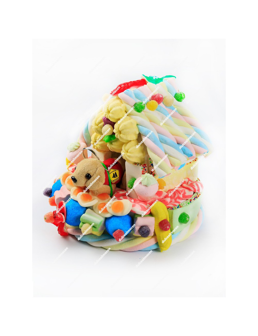 Tarta de Chuches caseta animal S5