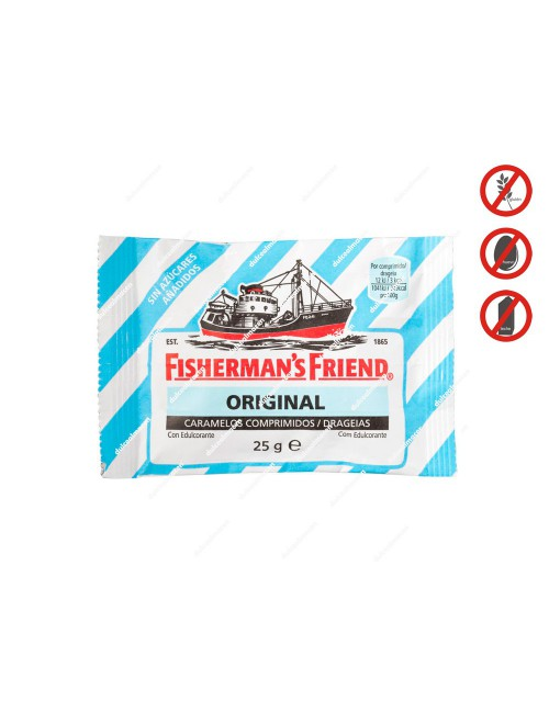 Fisherman's Friend original azul unidad