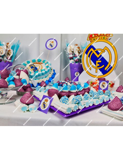 Mesa Dulce Real Madrid detalle