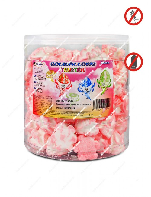 Golma golmallows twister rosa