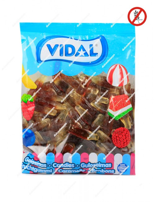 Vidal botella cola brillo