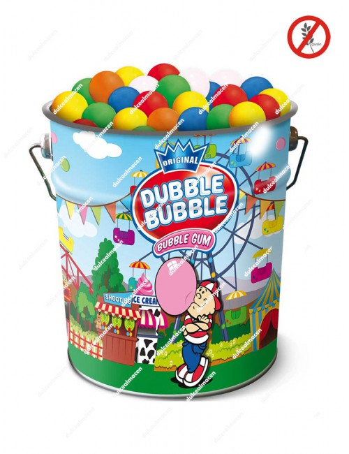 Dubble Bubble bolones chicle cubo