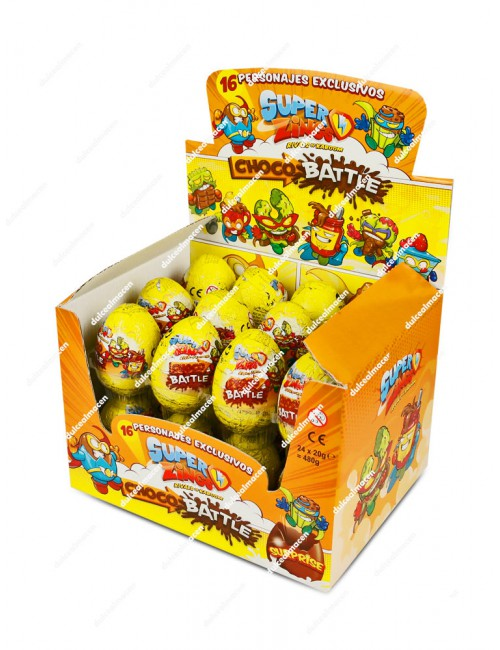 Superzings Choco Battle Huevo de chocolate