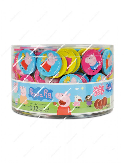 Monedas Chocolate Peppa Pig